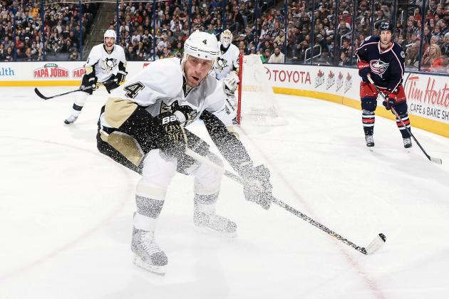Penguins Notebook: After Two Months, Scuderi Returns to Lineup