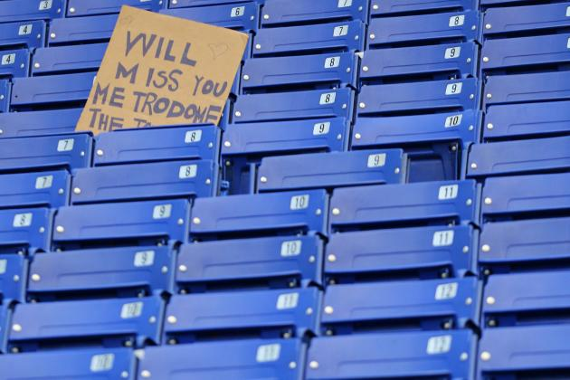 Metrodome Demolition Starts Early; Fans Manage to Steal Backs of Stadium's Seats