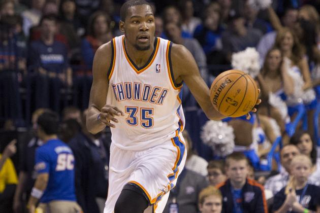 Kevin Durant Is Very Aware of His Shooting Percentage