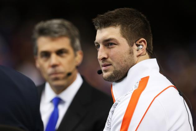 Tim Tebow Is Making the Right Decision Becoming an Analyst