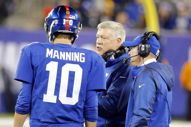 Offensive Coordinator Kevin Gilbride Likely to Be Fired by Giants, Source Says