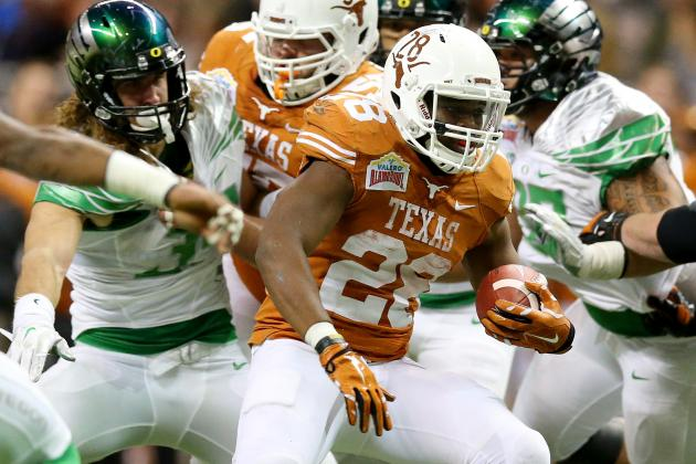 Alamo Bowl 2013 Oregon vs. Texas: Live Game Grades, Analysis for the Longhorns