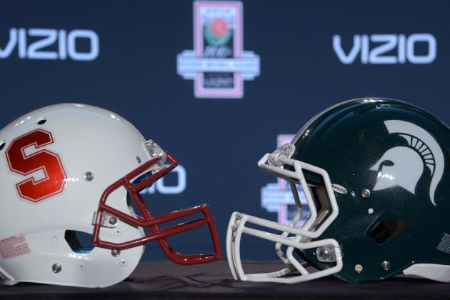 Rose Bowl 2014: Players to Watch in Stanford vs. Michigan State