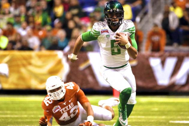 Alamo Bowl 2013 Oregon vs. Texas: Live Score and Highlights