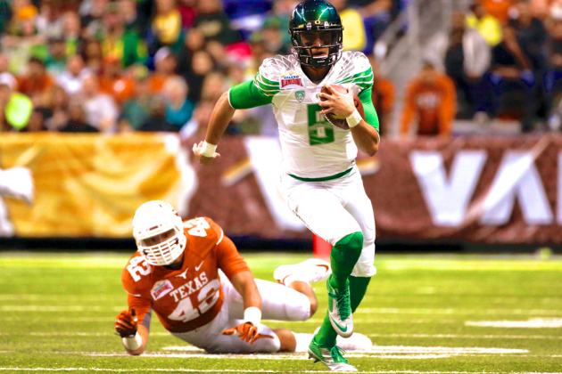 Oregon vs. Texas: Score, Grades and Analysis from 2013 Alamo Bowl