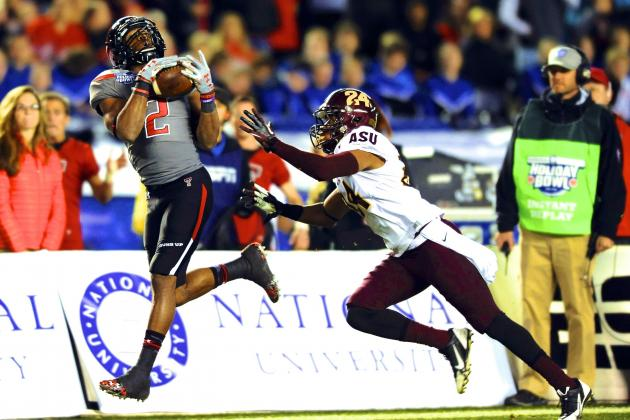 Holiday Bowl 2013 Arizona State vs. Texas Tech: Live Score and Highlights