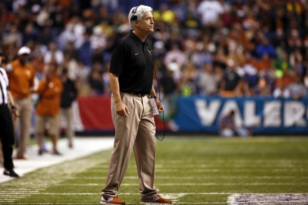 Alamo Bowl 2013: Greg Robinson Has Chance to Remain Texas' Defensive Coordinator