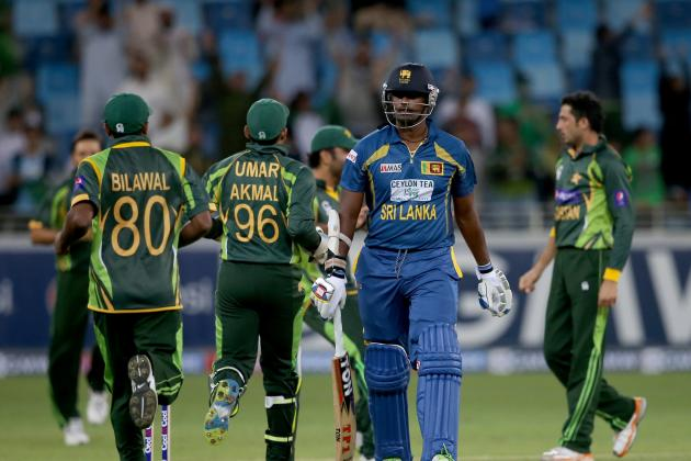 Sri Lanka vs. Pakistan -- Live Score and Stats