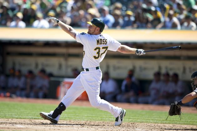 Brandon Moss Repeating His Breakout Season Is Key for Oakland A's