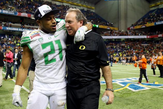 Oregon's Nick Aliotti Leads an Impressive Defensive Stand at the Alamo Bowl