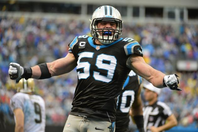 Luke Kuechly Named 2013-14 AP Defensive Player of the Year