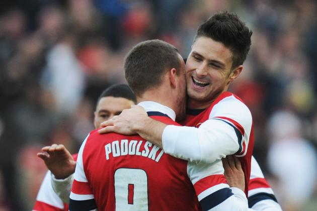 How Arsenal Can Replace Olivier Giroud Against Cardiff