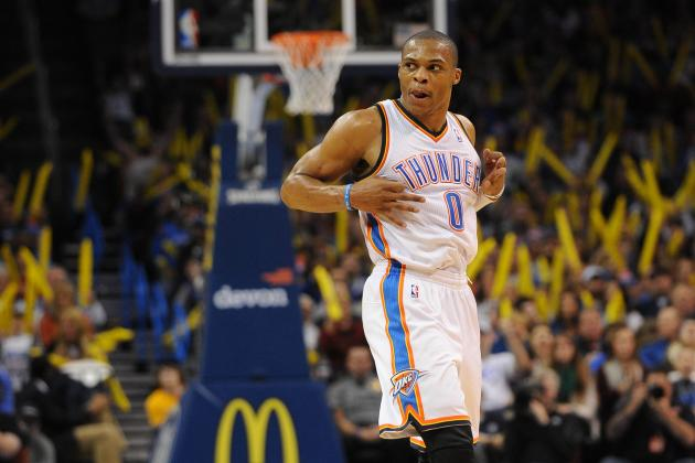 Russell Westbrook Returns to Practice for First Time Since Knee Surgery