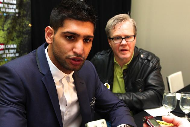 Amir Khan Has Signed Contract to Fight Floyd Mayweather, Waiting on American
