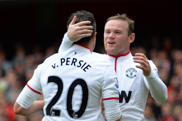 Robin Van Persie out for Tottenham Match, Wayne Rooney a Man Utd Doubt