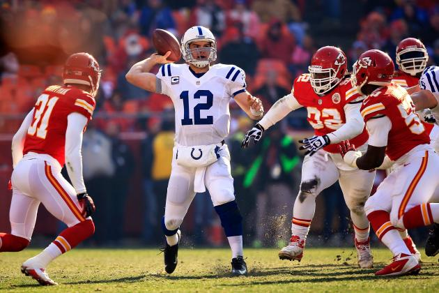 Kansas City Chiefs vs. Indianapolis Colts: Betting Odds AFC Wild Card Prediction