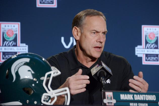 Rose Bowl Notes from MSU's Dantonio