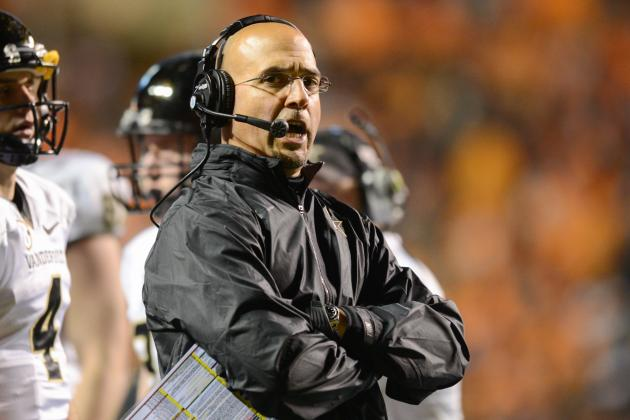 Why Vanderbilt Head Coach James Franklin Should Be Penn State's First Call