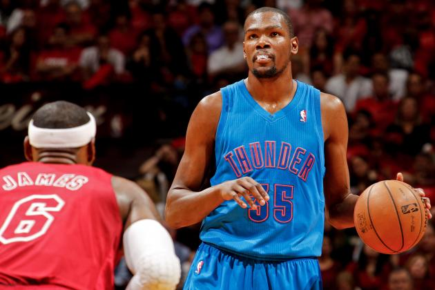 Is Kevin Durant Doomed to Come Up Short in MVP Race Yet Again?