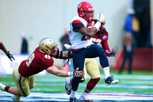 AdvoCare V100 Bowl 2013 Arizona vs. Boston College: Live Score and Highlights