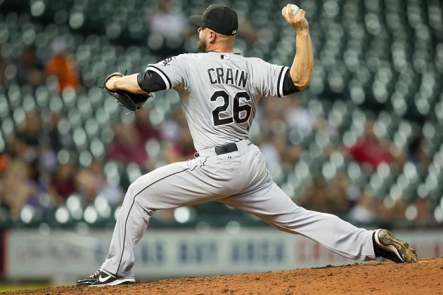 Astros Sign Jesse Crain on 1-Year Deal