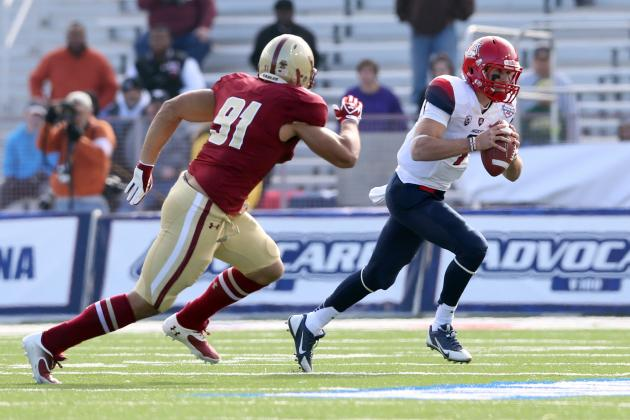 AdvoCare V100 Bowl: B.J. Denker Shows Arizona's More Than Just Ka'Deem Carey