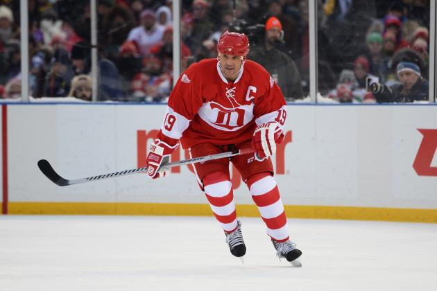 Steve Yzerman Gives Red Wings Fans a Final Thrill at Winter Classic Alumni Game