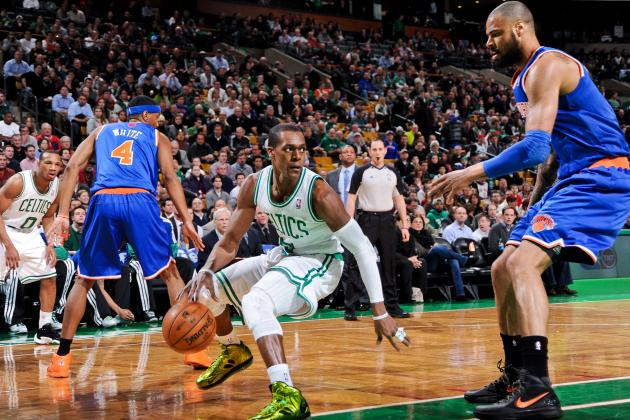 The Rajon Rondo Card Will Show Boston Celtics' Hand