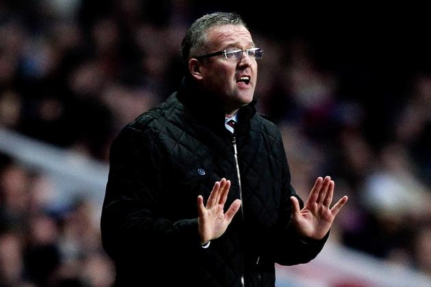 Adding Experience Is the Right Move for Paul Lambert and Aston Villa