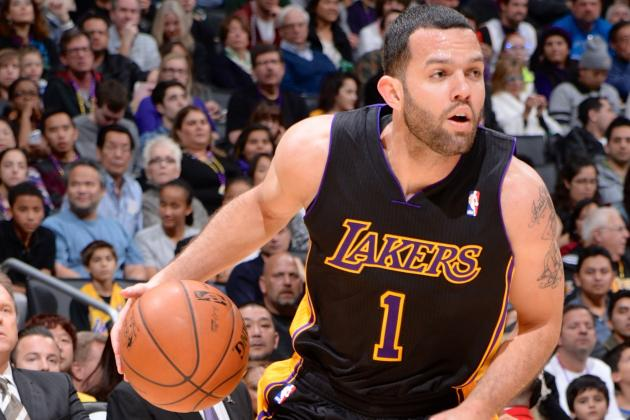 Jordan Farmar Injury: Updates on Lakers PG's Hamstring and Return