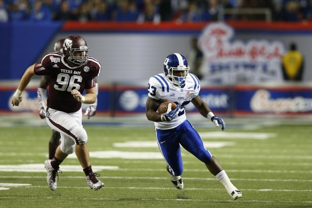 Chick-fil-A Bowl: A&M D Gives Johnny Football Surprise Assist, Glimpse to Future
