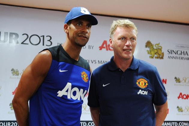 David Moyes Says Rio Ferdinand Is Still Part of His Plans