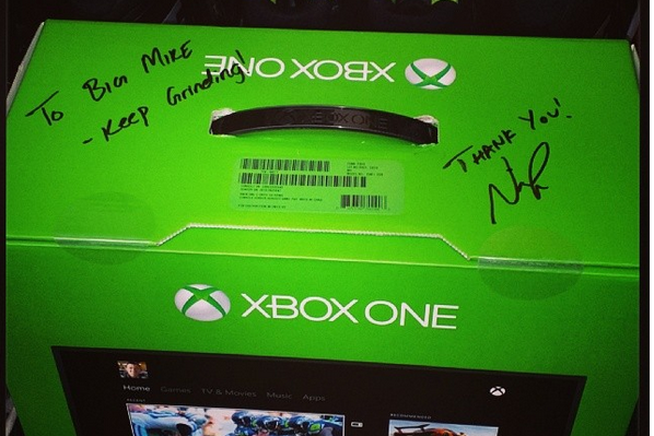Nick Foles Bought an Xbox One for Each Member of the Eagles Offensive Line