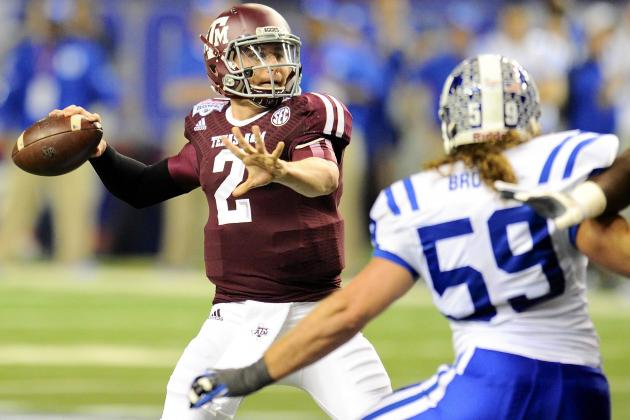 Chick-fil-A Bowl 2013: Johnny Manziel Moves Up College Football's Mount Olympus