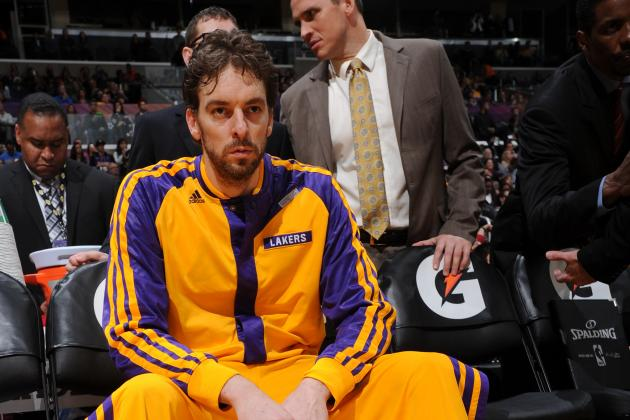 Pau Gasol Trade Would Signal Needed White Flag for LA Lakers' Season