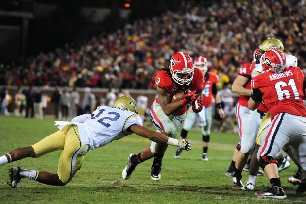 Gator Bowl 2014 Nebraska vs. Georgia: Live Game Grades, Analysis for Bulldogs