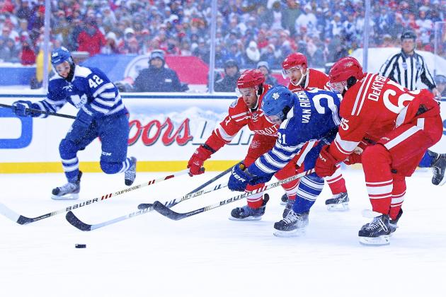 Winter Classic 2014: Live Score and Highlights for Maple Leafs vs. Red Wings