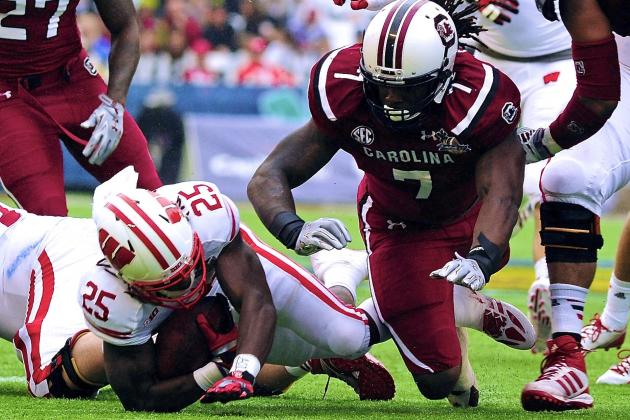 Capital One Bowl 2014 Wisconsin vs. South Carolina: Live Score and Highlights