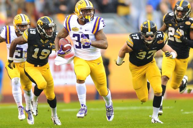 Outback Bowl 2014 Iowa vs. LSU: Live Score and Highlights