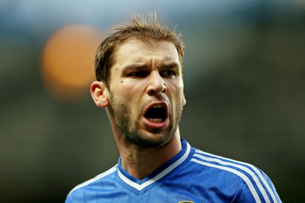 Branislav Ivanovic Injury: Updates on Chelsea Defender's Knee and Return