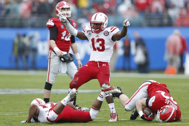 Gator Bowl 2014 Nebraska vs. Georgia: Live Game Grades, Analysis for Cornhuskers