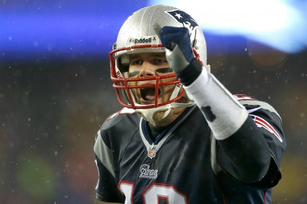 Brady Might Watch Wild-Card Games, but Might Not