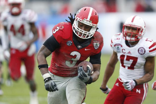 Gator Bowl 2014: Todd Gurley Once Again Proves He's Nation's Top RB