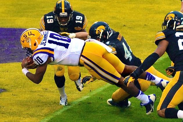 Iowa vs. LSU: Score, Grades and Analysis from 2014 Outback Bowl
