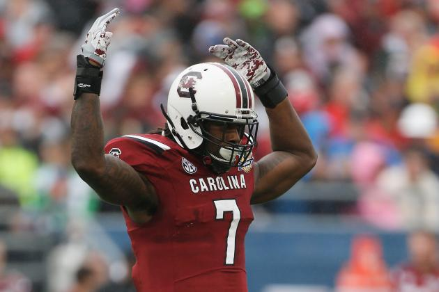 Jadeveon Clowney's 2014 NFL Draft Stock After Declaring After Capital One Bowl
