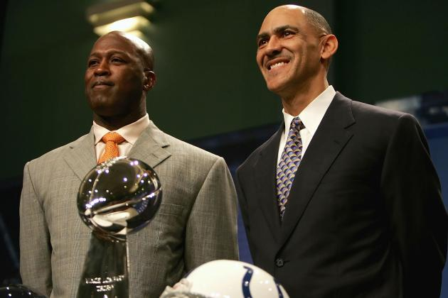 Dungy Believes Lovie Smith and Bucs Would Be a 'Good Fit'