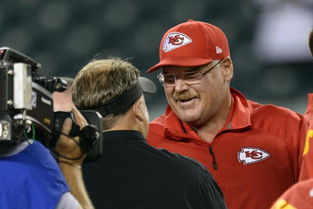 For Andy Reid's Chiefs and Chip Kelly's Eagles, What a Difference 1 Year Makes