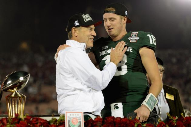 Rose Bowl 2014: Mark Dantonio Takes Place Among College Football's Elite Coaches