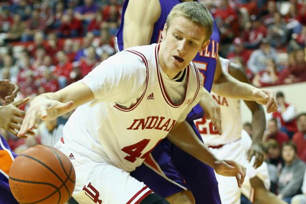 Former Indiana Forward Luke Fischer Rules out Transfer Within Big Ten