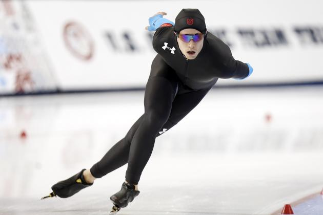 2014 US Olympic Trials Speedskating Results: Top Long-Track Times